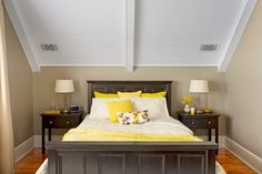 Master bed made from 5 panel doors. This Old House's  One-Room Wonder Reader Remodel Winners 2013