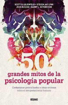 Resultado de imagen para libro mitos de la psicologia pop