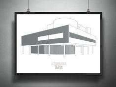 Image 8 of 14. Villa Savoye / Le Corbusier, 1931. Image © Francesco Ravasio