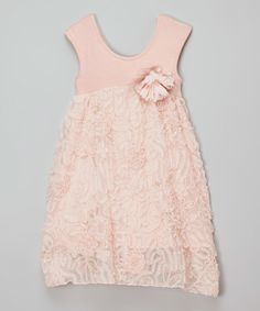 This Pink O'de Cooc Dress - Infant, Toddler & Girls is perfect! #zulilyfinds