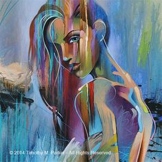 Figure Art Figure abstraite Art Modern Painting par FigureArt