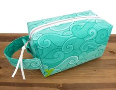Mermaid Makeup Bag - Toiletry Bag - Large Makeup Bag - Makeup Brush Bag - Makeup Storage Box - Makeup Box - Makeup Bag Large - Waves This large makeup box bag is highly functional and makes a stunning gift! Use it as a toiletry bag or fill it with anything you'd like to store, organize, or travel with. The waterproof lining makes it easy to contain and clean makeup and toiletry spills. Makeup Storage Box, Makeup Bag Organization, Makeup Brush Bag, Makeup Bags, Large Makeup Bag, Chapstick Holder, Mermaid Makeup, Brighten Your Day, Fun Prints