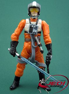 Star Wars Action Figure Corran Horn (I -  Jedi!), Star Wars The Legacy Collection