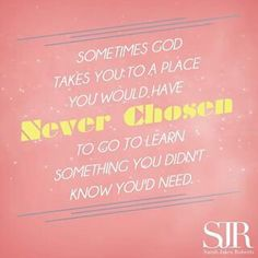 So True. Quote from Sarah Jakes Roberts.