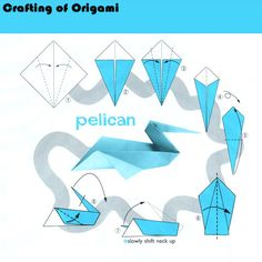Hope you like the origami patterns! :) I and trying to put together an archive of origami diagrams for you and me to enjoy! Easy Origami Animals, Kids Origami, Origami Love, Origami Fish, Origami Dragon, Money Origami, Paper Crafts Origami, Origami Design, Origami Birds