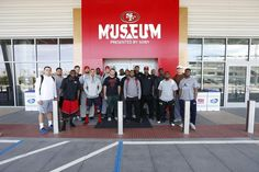 2015 Rookie Class Visits 49ers Museum