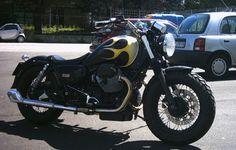 Moto Guzzi California Bobber Motorcycle Dirt Bike, Dirt Bikes, Guzzi Bobber, Moto Guzzi California, Royal Enfield, Chopper, Cars And Motorcycles, Vehicles, Bobbers