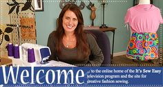 It's Sew Easy videos and tutorials