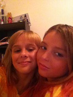 Makeup twins