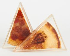 Pizza Encased in Lucite by Steph Mantis - Foodista.com