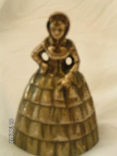 Brass Bell Made in Peerage England, Lady of Yestreryears
