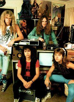 sin duda alguna unas de las primeras bandas que me influencio en el metal.