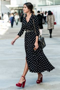 50 Street Style Shots for All the Dress Lovers Out There | Who What Wear UK