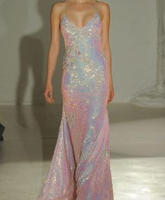 I want this awesome iridescent gown! Penny