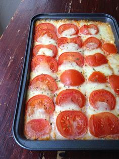 Ma-Line Cooking! Healthy Crockpot Recipes, Healthy Dessert Recipes, Vegetarian Recipes, Super Dieta, Tomate Mozzarella, Batch Cooking, Italian Recipes, Food Inspiration, Love Food