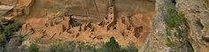 mesa verde -  parque nacional de los Estados Unidos, declarado también Patrimonio de la Humanidad por la Unesco en 1978. Está situado en el condado de Montezuma, en el sudoeste de Colorado.