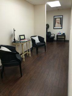 Color lounge area. Bee Hive Fairfield Iowa .great salon,talented stylist.