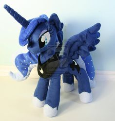 Luna Plushie by ~Yukamina-Plushies on deviantART