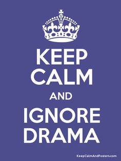 I'm done with all the drama, I don't need it in my life. Until you wish to handle it like an adult don't bother me with it.