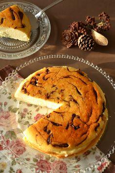 tarta-de-queso-con-trocitos-de-chocolate