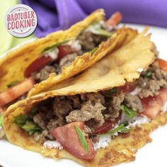 A must try recipe for those days you crave anything in a shell! Tacos, Burritos and wraps all so good when using a almost No Carb Shell.