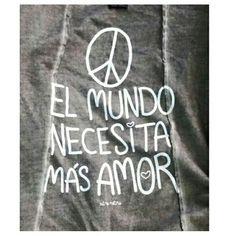 """Chaqueta kimono """"el mundo necesita más AMOR """" www.aireretro.es"""