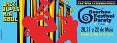 Vem aí Bourbon Festival Paraty, 8ª.edição, de 20 a 22 de maio.  #BourbonFestival #BourbonFestivalParaty #JazzFestivalParaty #FestivalDeJazz #JazzFestival #jazz #soul #rb #mpb #música #cultura #turismo #arte #VisiteParaty #TurismoParaty #Paraty #PousadaDoCareca #FestivalDeMúsica #FestivalDeMúsicaLatina #festival #evento #PartiuBrasil #MTur