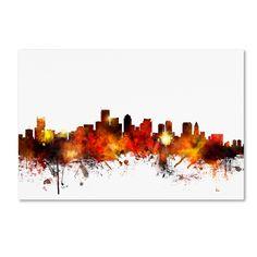 <ul><li>Artist: Michael Tompsett</li><li>Title Boston Massachusetts Skyline II</li><li>Product Type: Giclee Print</li></ul>