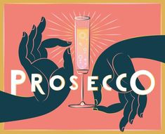 Carlos Zamora brings out the bubbly for the Wall Street Journal 'On Wine' column, to accompany an assessment of the best mid-tier bottles of Prosecco. Illustration Art Drawing, Graphic Illustration, Graphic Art, Cartoon Illustrations, Digital Illustration, Cocktail Illustration, Collage, Retro Art, Art Deco Design