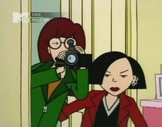 Find images and videos about cartoon, mtv and Daria on We Heart It - the app to get lost in what you love. Daria Tv Show, Daria Mtv, Daria Morgendorffer, Vintage Cartoon, Cartoon Art, Jane Lane, Memes Arte, Sailor Moon Art, Wolf Girl