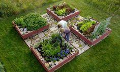Raised Garden Beds, beautiful design!