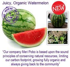 #natureandmore #organic #watermelon #meripobo #juicy