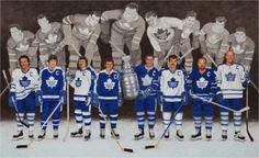 Toronto Maple Leafs Captains by Allan OMarra George Armstrong, Maple Leafs Hockey, Hockey Games, Hockey Players, Hockey Baby, Wayne Gretzky, Tim Hortons, Nfl Fans, Toronto Maple Leafs