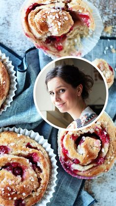 Baked Doughnuts, Sweet Pastries, Baked Goods, Pancakes, Pie, Baking, Breakfast, Desserts, Buns