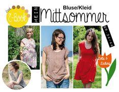 """Nähanleitungen Mode - E-Book Bluse/Kleid """"Mein Mittsommer"""" ... - ein Designerstück von Lotte-und-Ludwig bei DaWanda"""