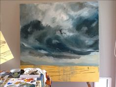 WIP for Big Sky series by Owie Simpson