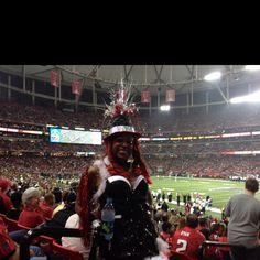 The Atlanta Falcons Bird Lady