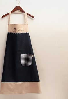 Kitchen Apron Korean Home Garden Style Linen Men's Water Pollution Aprons Work Aprons Cooking Apron-in Aprons from Home & Garden on Aliexpress.com | Alibaba Group