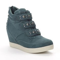 Candie's Studded Wedge Sneakers - Women at Kohl's