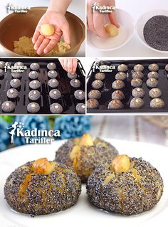 How to make the Poppy Sultan Dessert Recipe? East Dessert Recipes, Desserts, Turkish Recipes, Ethnic Recipes, Tasty, Yummy Food, Food Articles, Recipe Sites, Iftar