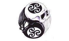yin yang tattoos - For him