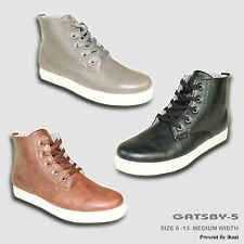 CORONADO New Men Sneaker Shoe GATSBY-5 Chukka Boot Comfort Soft Plain Round Toe