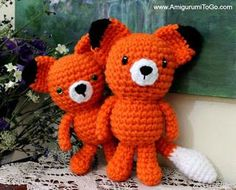 The Wee Fox is a member of my latest series called the Wee bits. You can read more about them here. There's already a Wee Koala and a Wee Bear, Frog and Bunny and a Wee Moose available and more anima