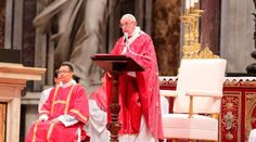 NOTICIAS Y MEDITACIONES DE PAPA FRANCISCO: PAPA FRANCISCO EN PENTECOSTÉS: EL ESPÍRITU SANTO E...