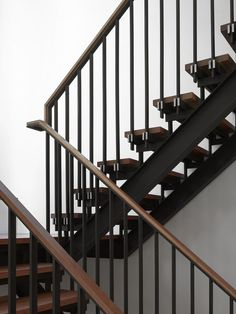 Tedesco's father was a precision machinist and his uncles worked as welders and carpentry framers. As a tribute to his family's history, Tedesco made the blackened-steel-and-wood staircase a focal point—it can be seen from nearly every room in the house.