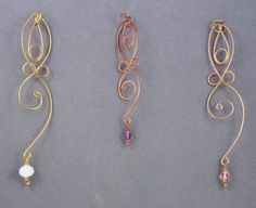 Goddess charms  . . .  ღTrish W ~ http://www.pinterest.com/trishw/  . . .   #handmade #jewelry #wire_wrapping