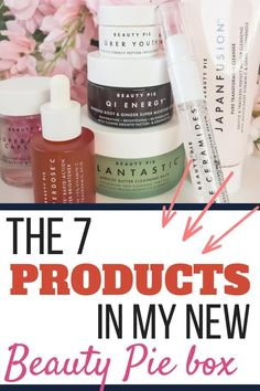 I love my Beauty Pie boxes and this is my biggest one yet - with 7 different products and detailed reviews. Find out what to get with your first Beauty Pie box! #beautypie #skincare #antiaging #cosmetics Beauty Pie, My Beauty, Beauty Hacks, Korean Products, Pure Products, Sweat Proof Makeup, Cleopatra Beauty Secrets, Pie Box