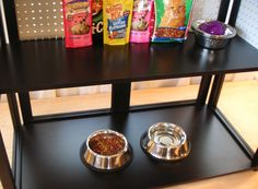 Organize your pet supplies! Sets up in seconds. Great for mudroom or garage. Patented. design-divide.com.