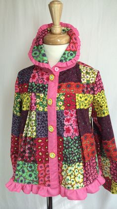 girls light jacket or blouse by SewCuteMami on Etsy
