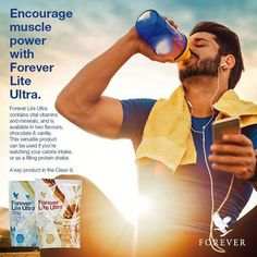 Forever Lite Ultra with Aminotein is the perfect addition to your healthy Forever Living lifestyle. Get on the path to effective and sustained weight management! Two servings a day of Forever Lite Ultra, prepared with skim milk as directed, supply a full 100% of the Reference Daily Intake (RDI) for the vitamins and minerals shown in the Nutrition Facts section. In two flavors: Vanilla and Chocolate #gabokakucko